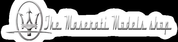 The Maserati Scale Model Shop