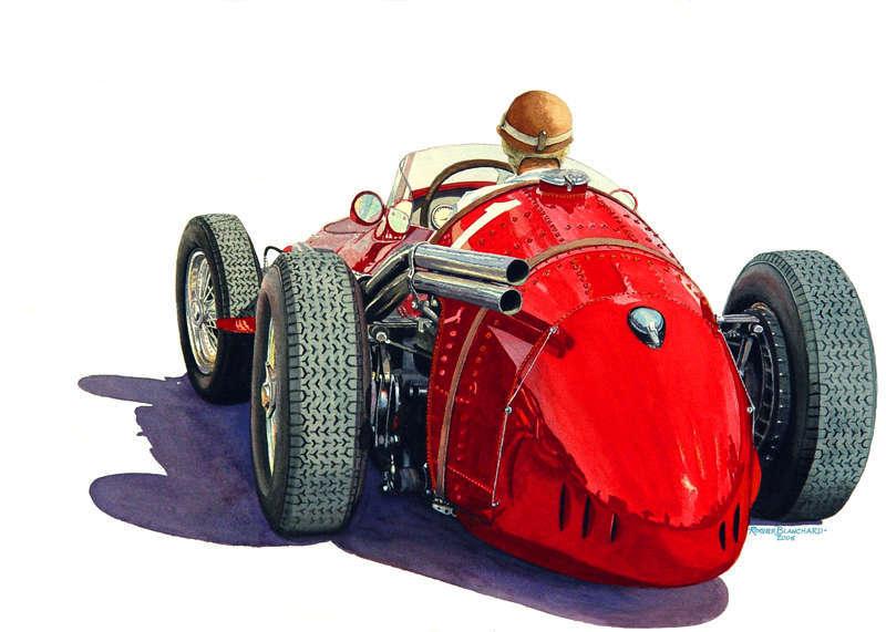 Fangio-in-Maserati