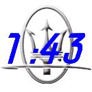 Maserati 1:43 Models
